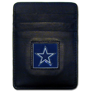 Dallas Cowboys Leather Money Clip (F)