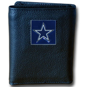 Dallas Cowboys Leather Trifold Wallet (F)