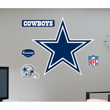 Dallas Cowboys Logo Fathead Wall Graphic