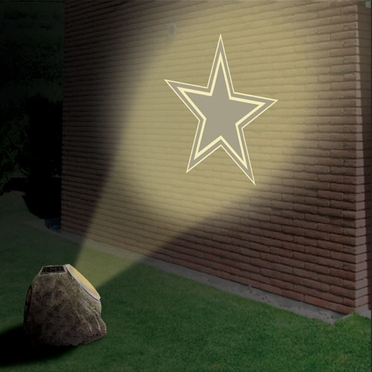 Dallas Cowboys Logo Projection Rock