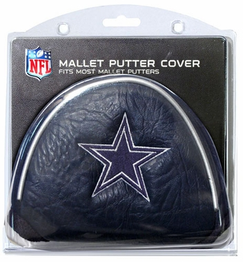 Dallas Cowboys Mallet Putter Cover