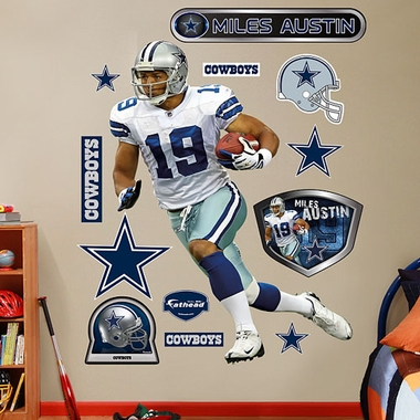 Dallas Cowboys Miles Austin � Fathead Wall Graphic