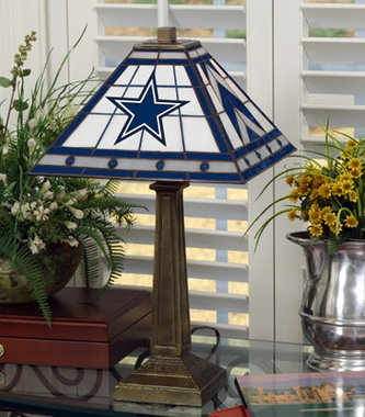 Dallas Cowboys Mission Lamp