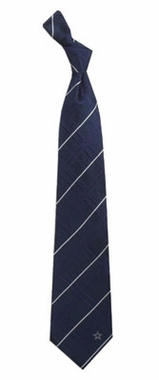 Dallas Cowboys Oxford Stripe Woven Silk Necktie