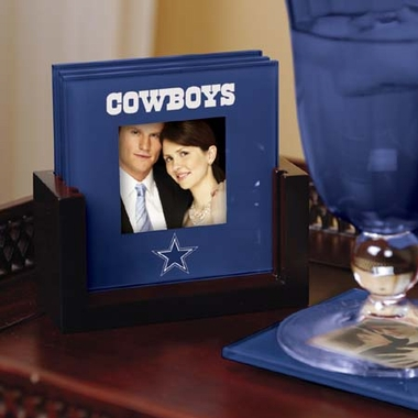 Dallas Cowboys Photo Coaster Set