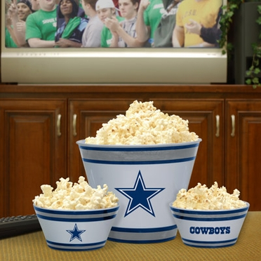 Dallas Cowboys Plastic Serving Set