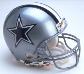 Dallas Cowboys Riddell Full Size Authentic Helmet