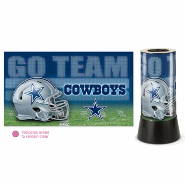 Dallas Cowboys Rotating Lamp