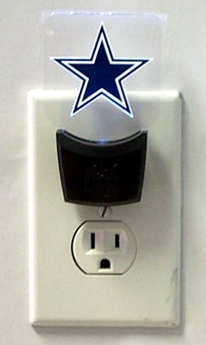 Dallas Cowboys Set of 2 Nightlights