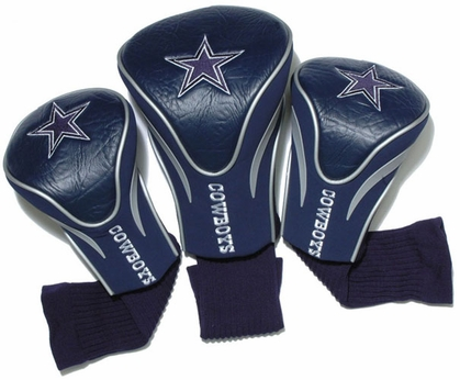 Dallas Cowboys Set of Three Contour Headcovers
