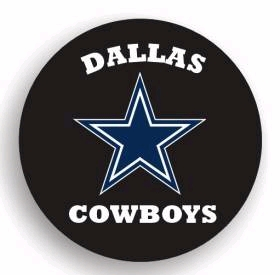 Dallas Cowboys Spare Tire Cover (Small Size)