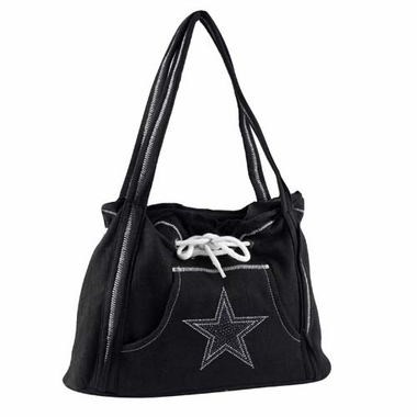 Dallas Cowboys Sport Noir Hoodie Purse