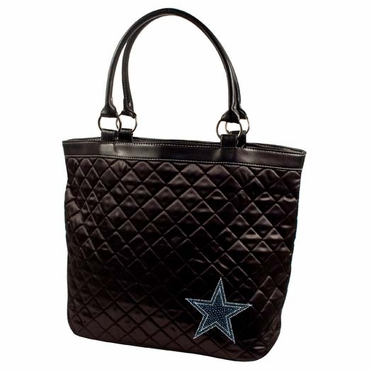 Dallas Cowboys Sport Noir Quilted Tote