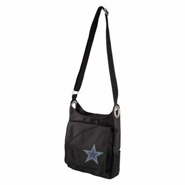 Dallas Cowboys Sport Noir Sheen Crossbody Bag