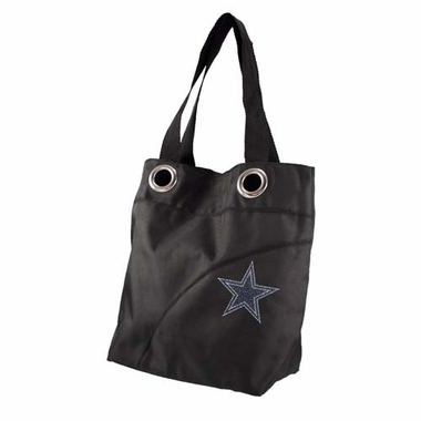 Dallas Cowboys Sport Noir Sheen Tote