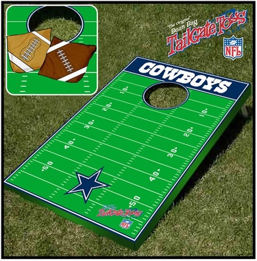 Dallas Cowboys Tailgate Toss Cornhole Beanbag Game