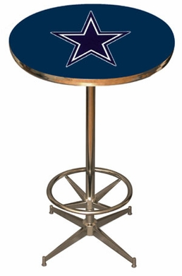 Dallas Cowboys Team Pub Table