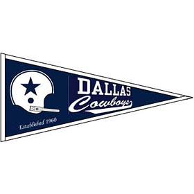 Dallas Cowboys Throwback Wool Pennant