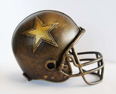 Dallas Cowboys Tim Wolfe Helmet Statue