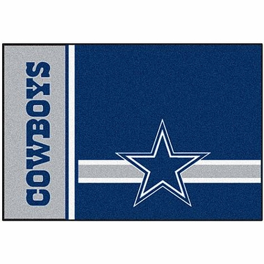 Dallas Cowboys Uniform Inspired 20 x 30 Rug
