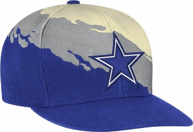 Dallas Cowboys Vintage Paintbrush Snap Back Hat