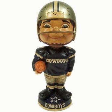 Dallas Cowboys Vintage Retro Bobble Head