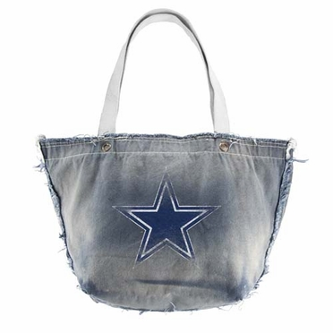 Dallas Cowboys Vintage Tote (Denim)
