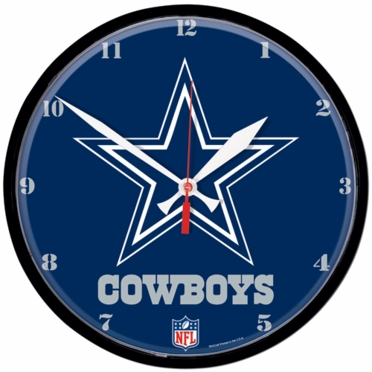 Dallas Cowboys Wall Clock