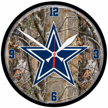 Dallas Cowboys Wall Clock (Realtree)