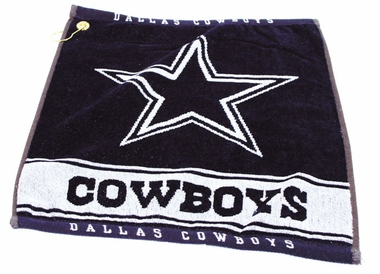 Dallas Cowboys Woven Golf Towel