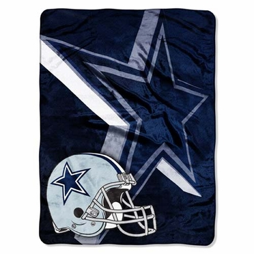 Dallas Cowboys XL Micro Raschel Blanket