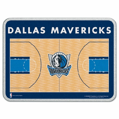 Dallas Mavericks 11 x 15 Glass Cutting Board
