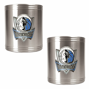 Dallas Mavericks 2 Can Holder Set