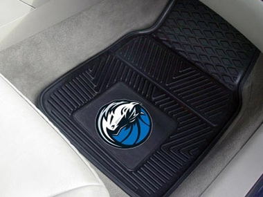 Dallas Mavericks 2 Piece Heavy Duty Vinyl Car Mats