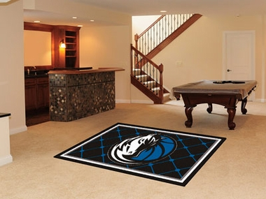 Dallas Mavericks 5 Foot x 8 Foot Rug