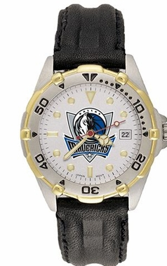 Dallas Mavericks All Star Mens (Leather Band) Watch