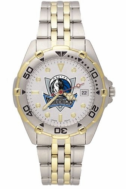 Dallas Mavericks All Star Mens (Steel Band) Watch