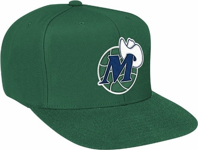 Dallas Mavericks Basic Logo Snap Back Hat