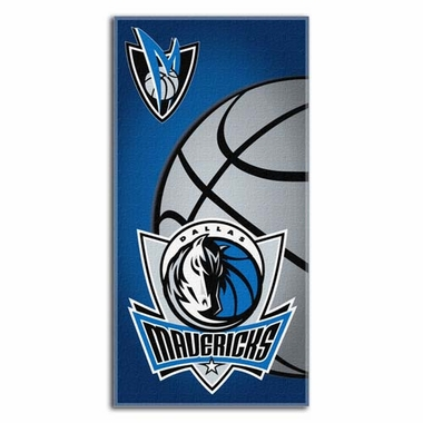 Dallas Mavericks Beach Towel