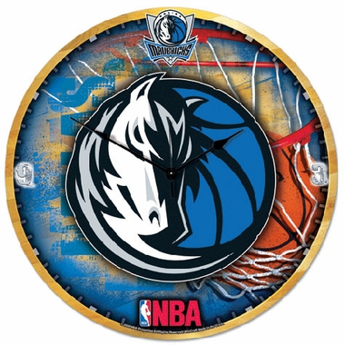 Dallas Mavericks Big 18 Inch Hi Definition Clock