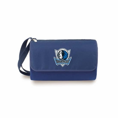 Dallas Mavericks Blanket Tote (Navy)