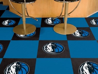 Dallas Mavericks Carpet Tiles