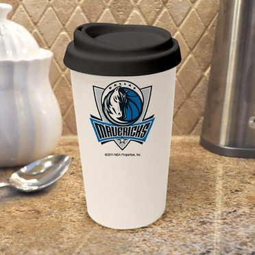 Dallas Mavericks Ceramic Travel Cup