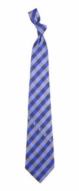 Dallas Mavericks Check Poly Necktie