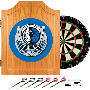 Dallas Mavericks Complete Dart Cabinet