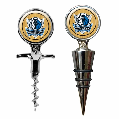 Dallas Mavericks Corkscrew and Stopper Gift Set