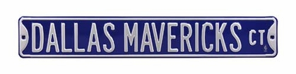 Dallas Mavericks Ct Street Sign