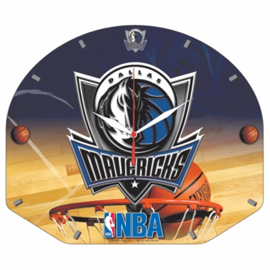 Dallas Mavericks High Definition Wall Clock