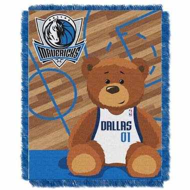Dallas Mavericks Jacquard BABY Throw Blanket