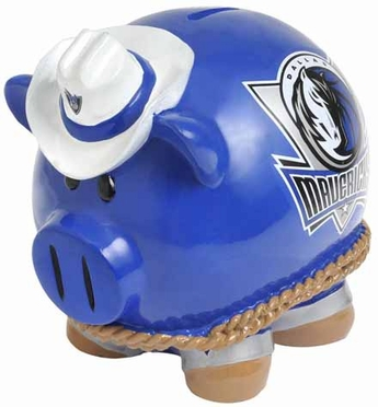 Dallas Mavericks Large Thematic Piggy Bank
